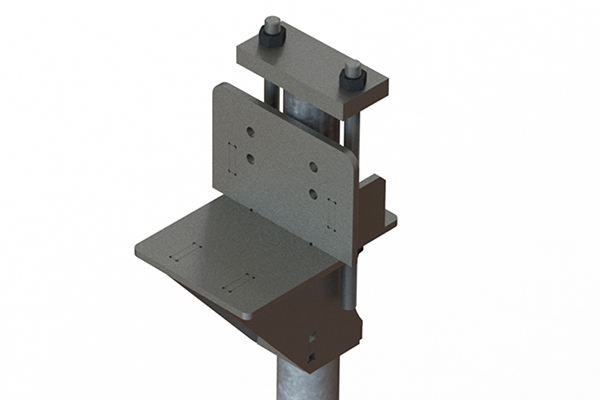 Titan Products SP-110 Push Pier Bracket