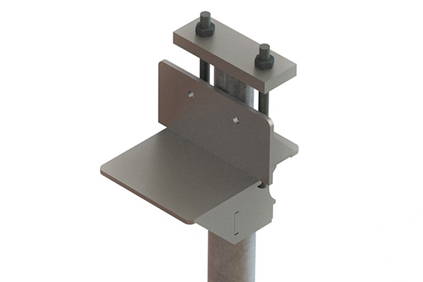 Titan Products SP-90 Push Pier Bracket